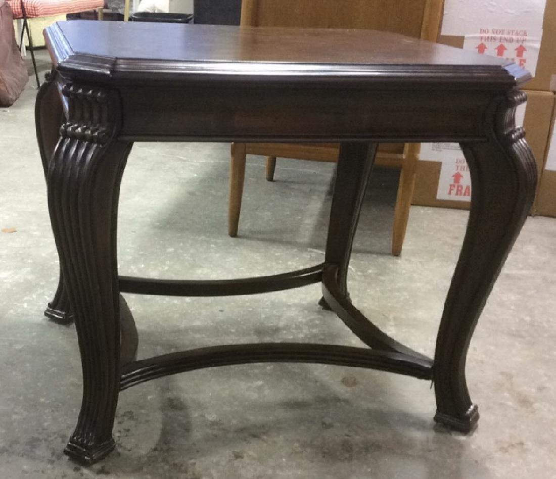 Almost New Walnut End Table End table side table Walnut - 7