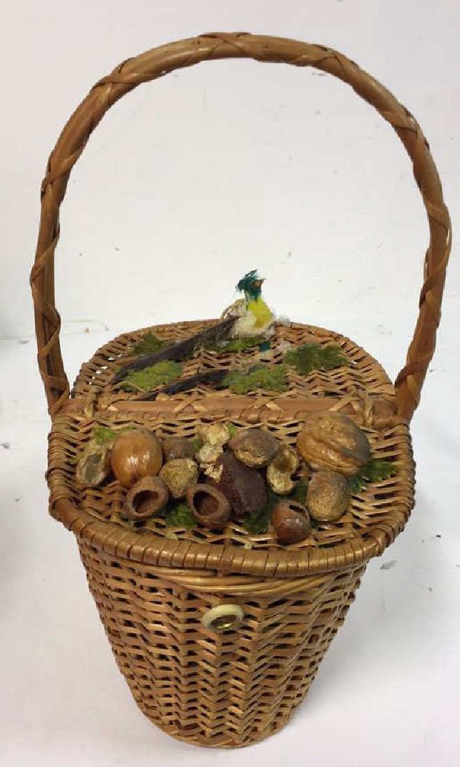 Basket Lot Featuring Nan Basket Purse 4 baskets - 2