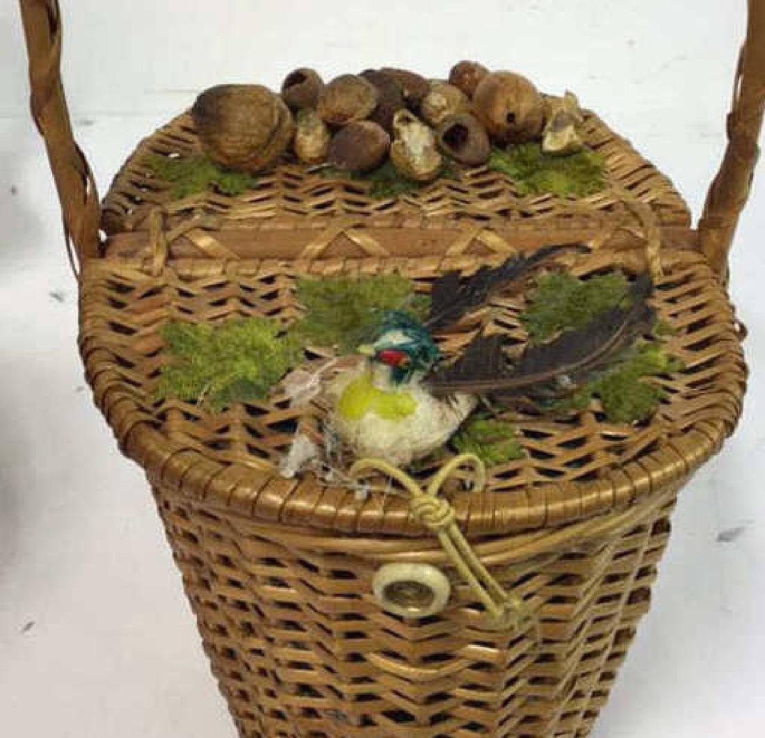 Basket Lot Featuring Nan Basket Purse 4 baskets - 3