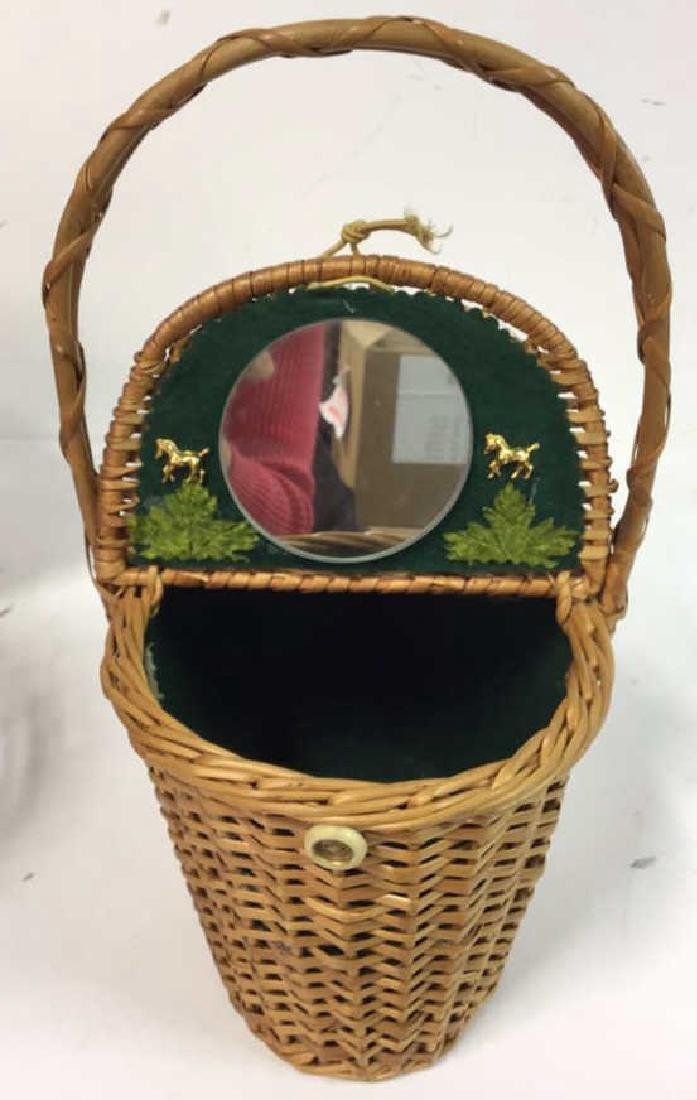 Basket Lot Featuring Nan Basket Purse 4 baskets - 4