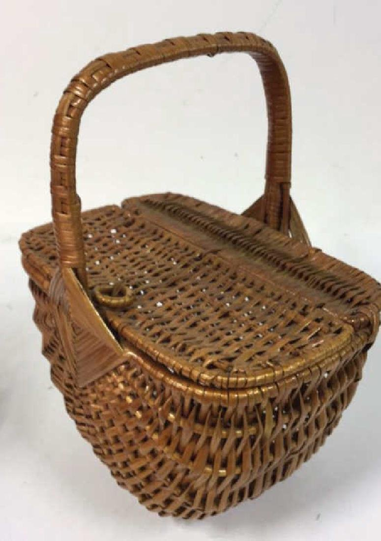 Basket Lot Featuring Nan Basket Purse 4 baskets - 6