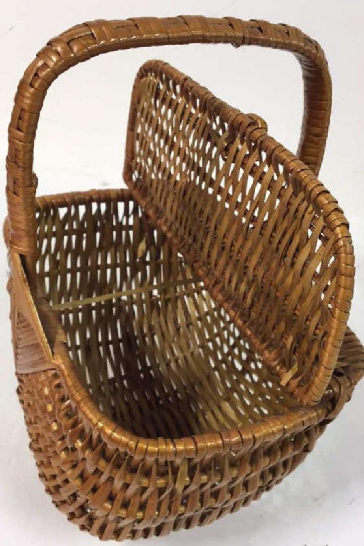 Basket Lot Featuring Nan Basket Purse 4 baskets - 7