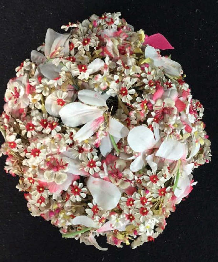 Vintage Ladies Hat Lace And Flowers Vintage ladies - 4