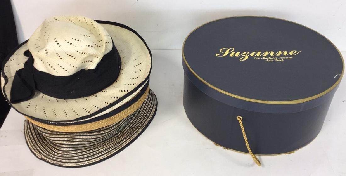 Assorted Vintage Ladies Hats 3 vintage ladies hats, one - 11