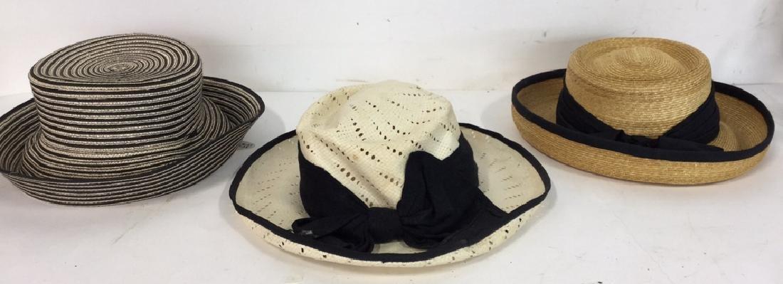 Assorted Vintage Ladies Hats 3 vintage ladies hats, one