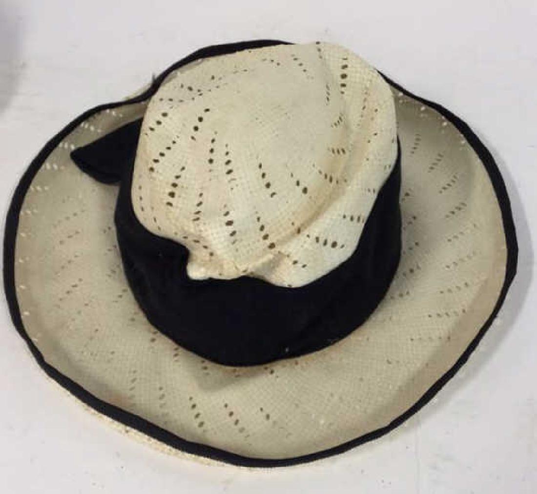 Assorted Vintage Ladies Hats 3 vintage ladies hats, one - 9