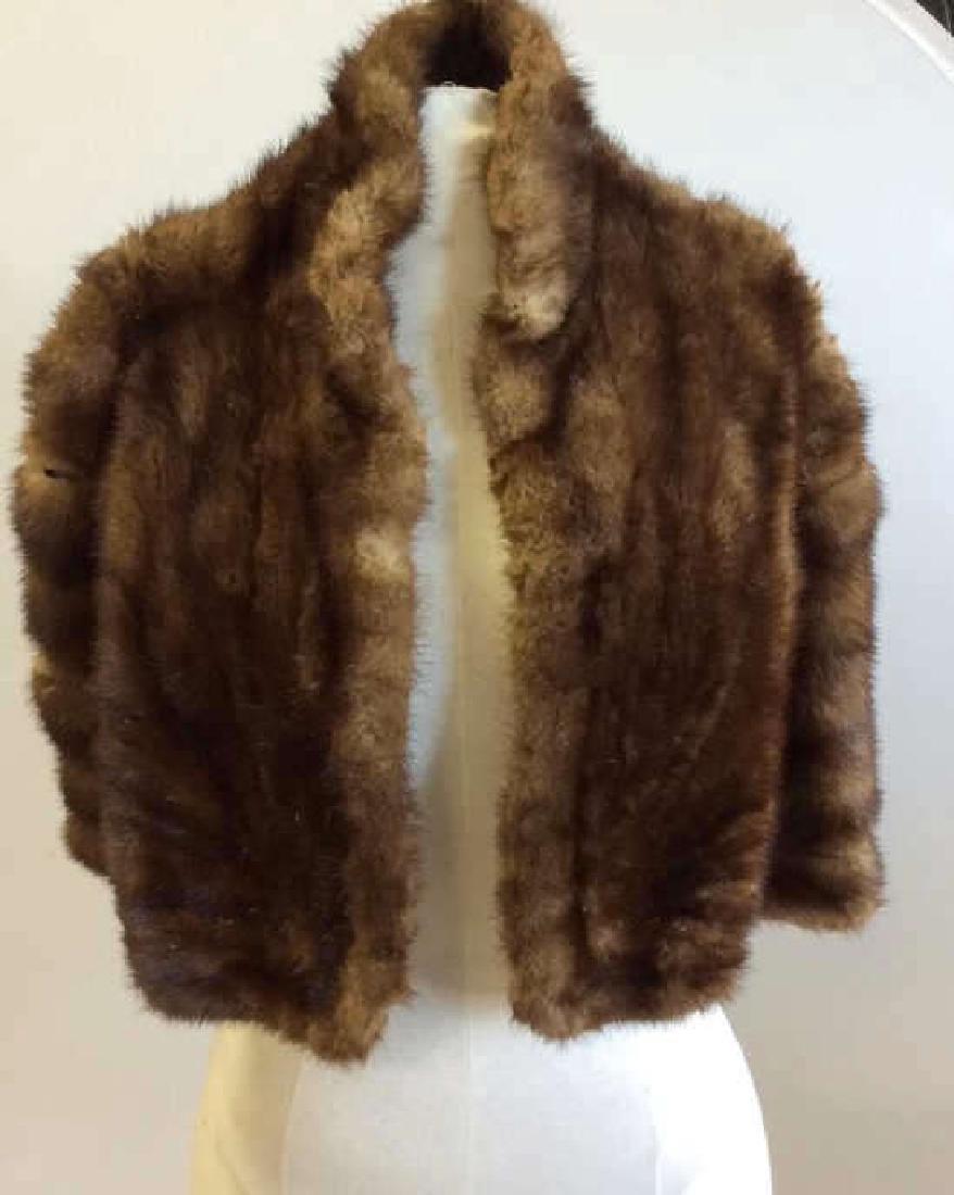 Vintage Mink Fur Stole and Stone Marten Vintage Ladies
