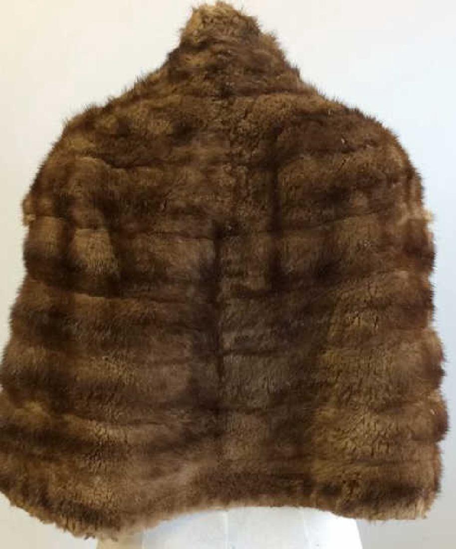 Vintage Mink Fur Stole and Stone Marten Vintage Ladies - 2