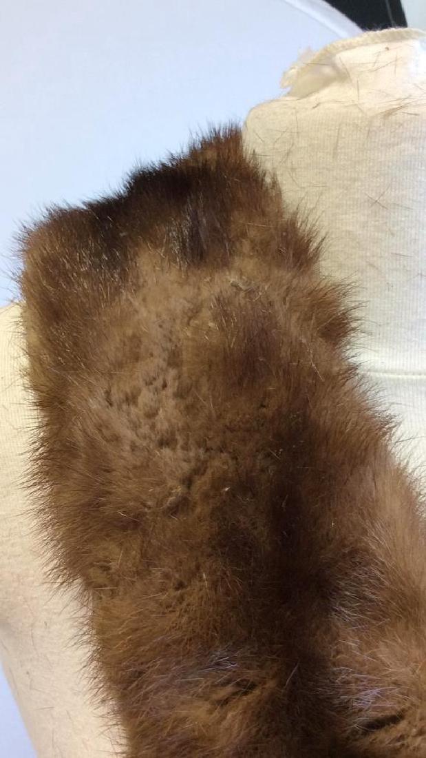 Vintage Mink Fur Stole and Stone Marten Vintage Ladies - 6