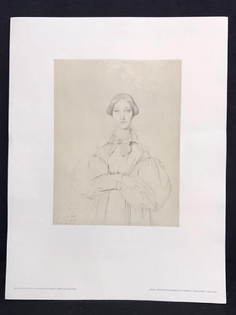 Jean-Auguste-Dominique Ingres Print - 2