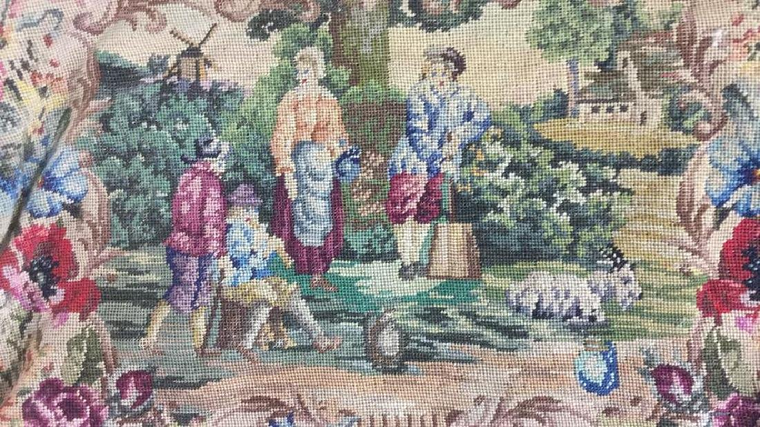Antique Petit Point Tapestry Evening Bag Tapestry of - 3