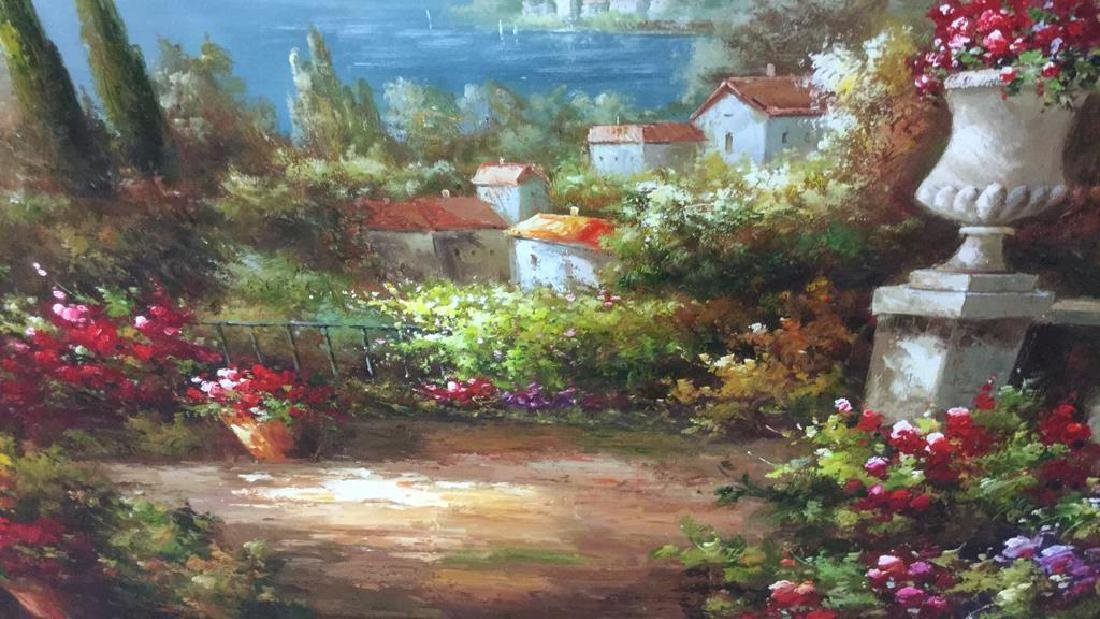 Scenic Painting on Canvas Framed Artwork is painting - 4