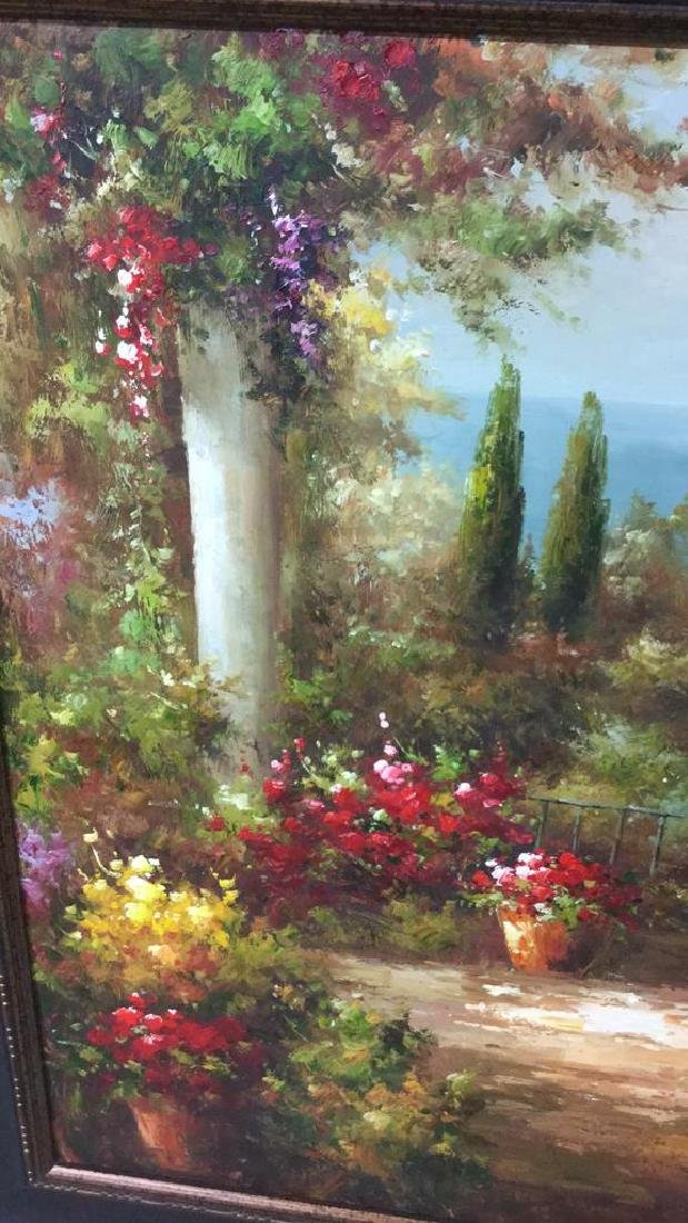 Scenic Painting on Canvas Framed Artwork is painting - 6