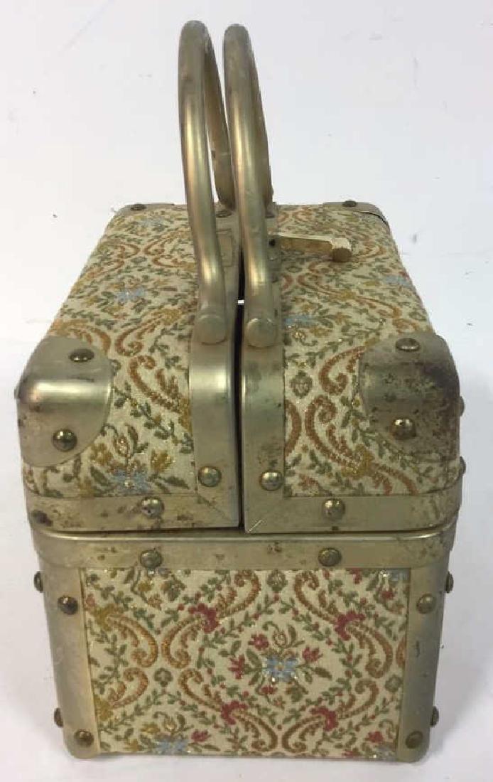 Vintage Italian Lunchbox Style Handbag Handbag, purse, - 3