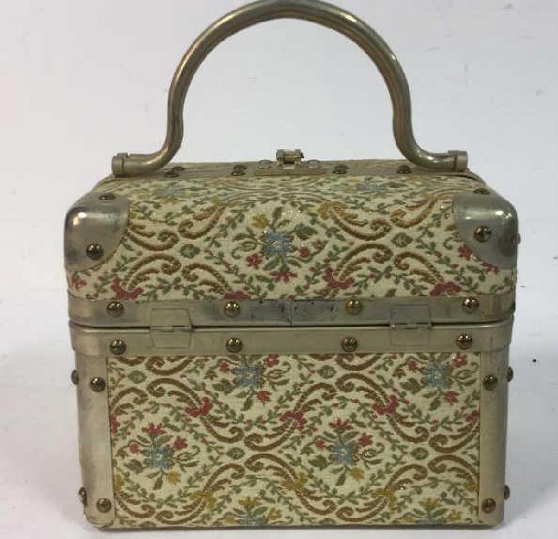 Vintage Italian Lunchbox Style Handbag Handbag, purse, - 4