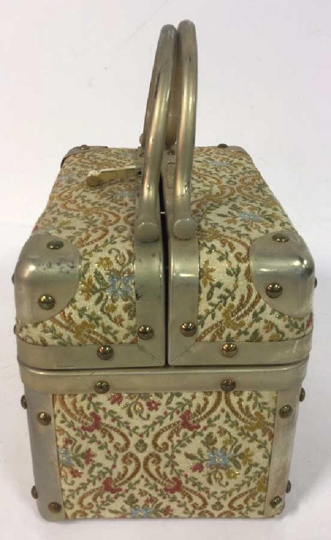 Vintage Italian Lunchbox Style Handbag Handbag, purse, - 5