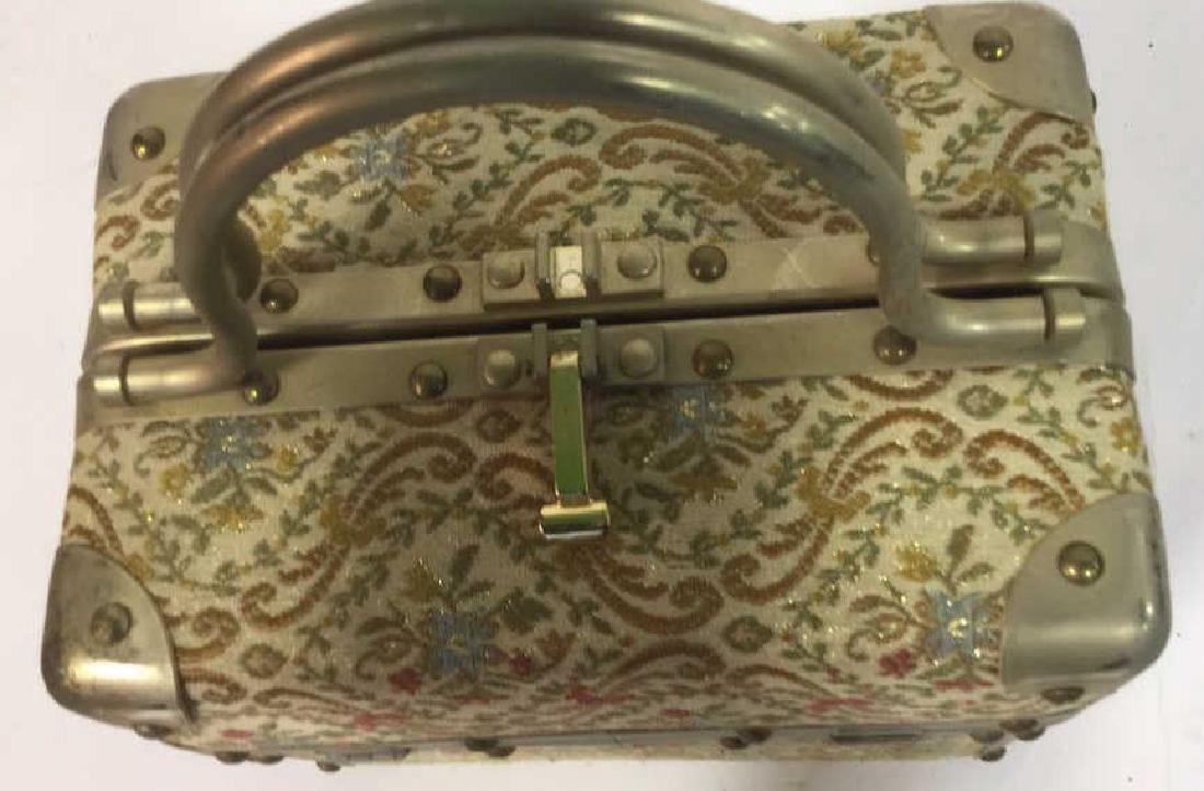 Vintage Italian Lunchbox Style Handbag Handbag, purse, - 6