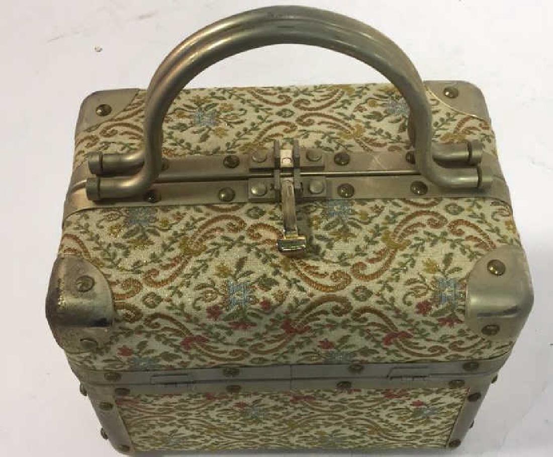 Vintage Italian Lunchbox Style Handbag Handbag, purse, - 7