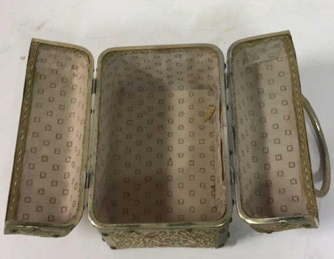 Vintage Italian Lunchbox Style Handbag Handbag, purse, - 8