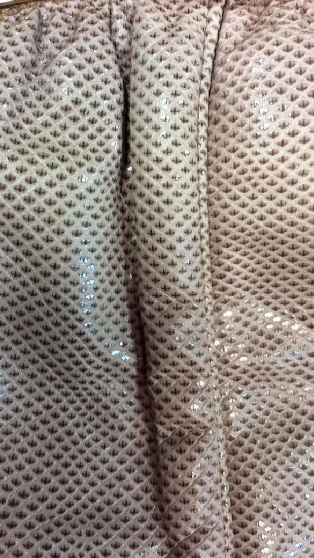 Judith Lieber Vintage Taupe Snake Skin Purse Soft Snake - 10