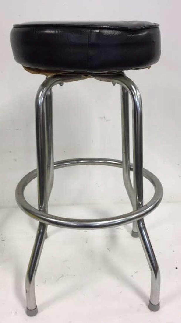 Vintage Chrome Bar Stool Vintage bar stool seating with