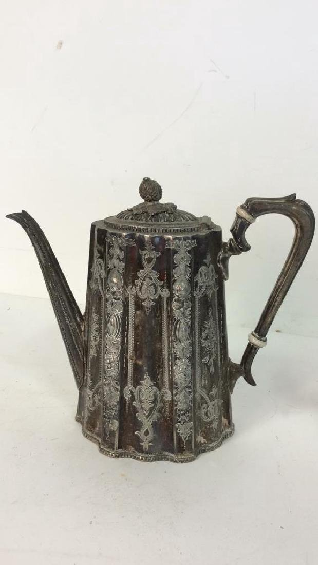 Vintage Reed Barton SP Coffee Service Marked for Reed - 6