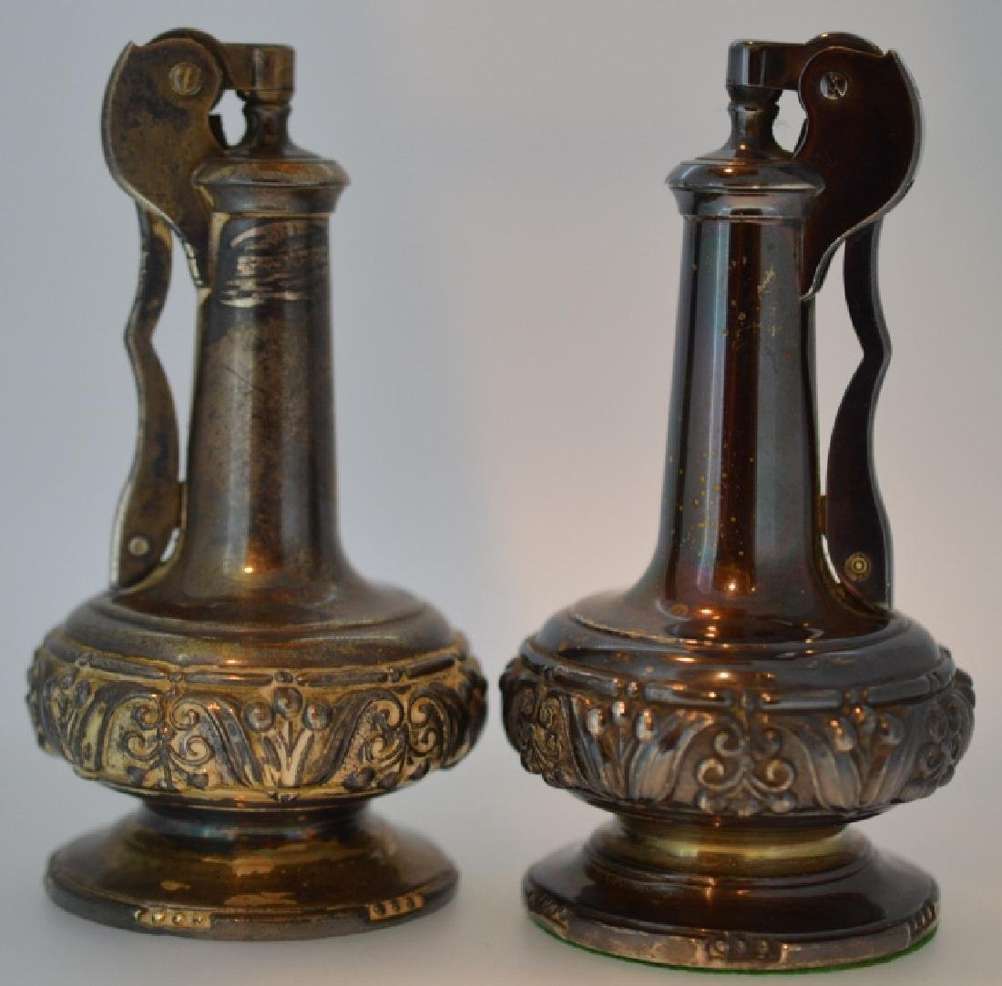 Set of Vintage Ronson Decanter Lighters Made in Newark,