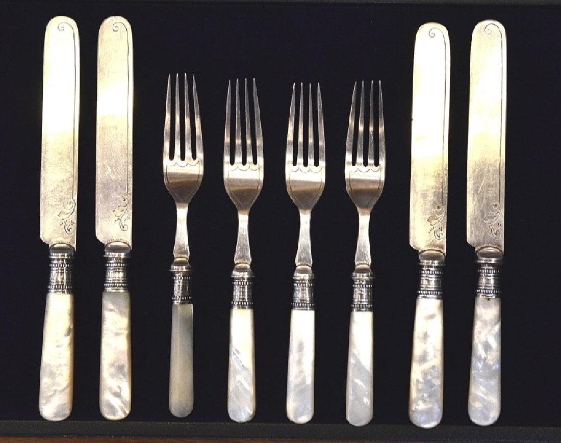 Joseph Elliot & Sons Forks & Knives Set Set of 4 Forks