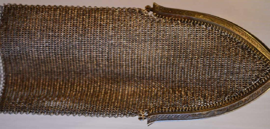 """Whiting & Davis Company Evening Bag 14 1/2"""" Long from - 2"""