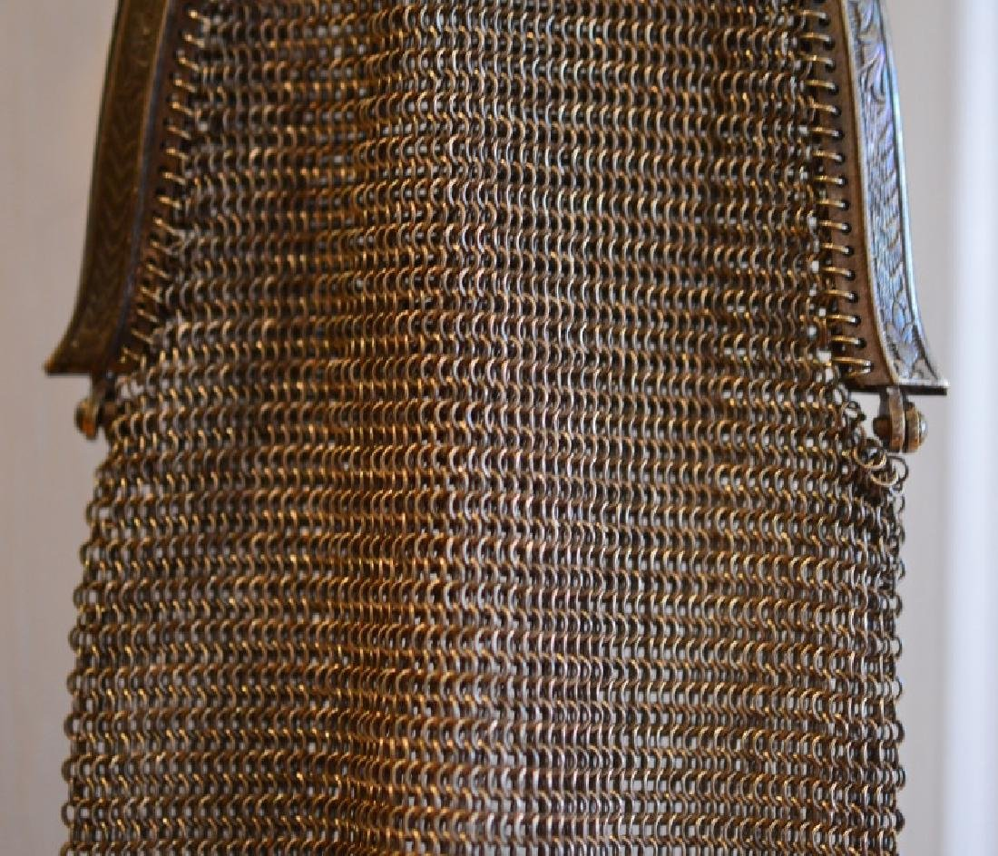"""Whiting & Davis Company Evening Bag 14 1/2"""" Long from - 4"""