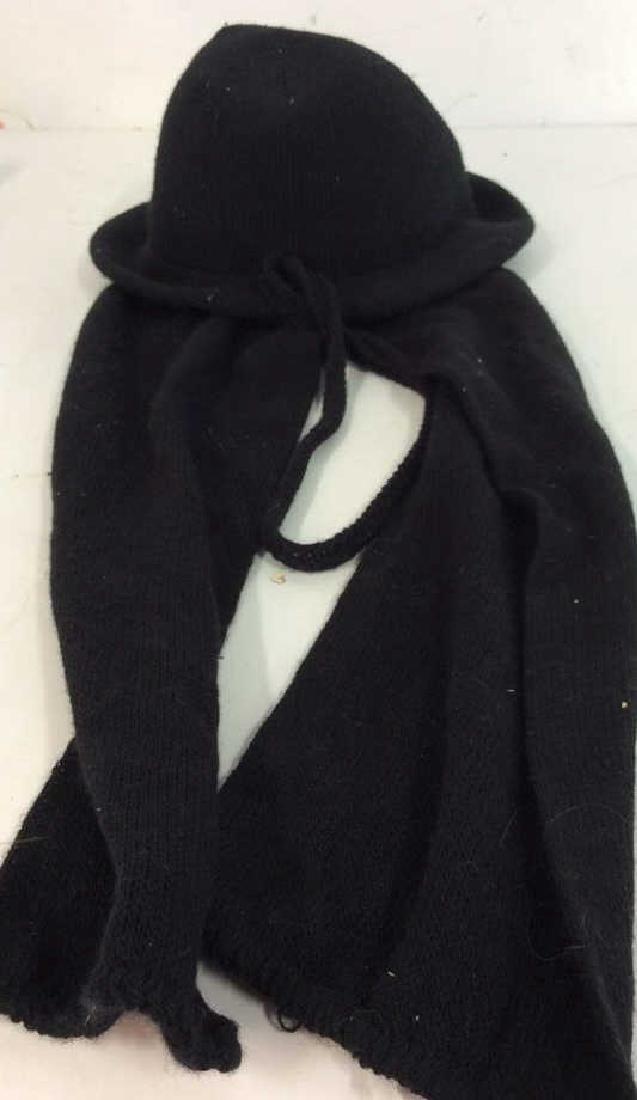 Vera Bradley Black Tote and Hat Scarf Ladies - 6