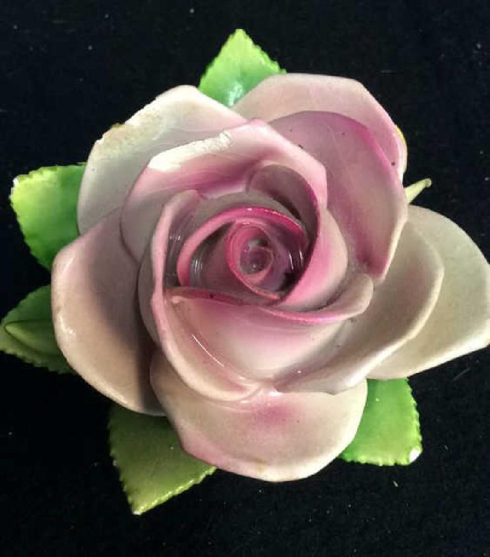 16 Germany Marked Porcelain Roses Decorative - 8