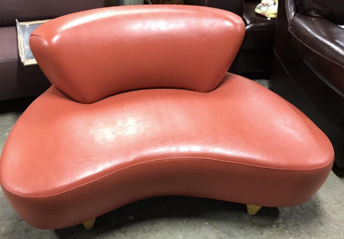 Modernica SOHO NY Coral Leather Lounge Chair Modernica - 2