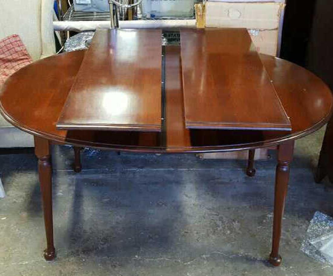 Mahogany Oval Dining Room Table Mahogany Oval Dining