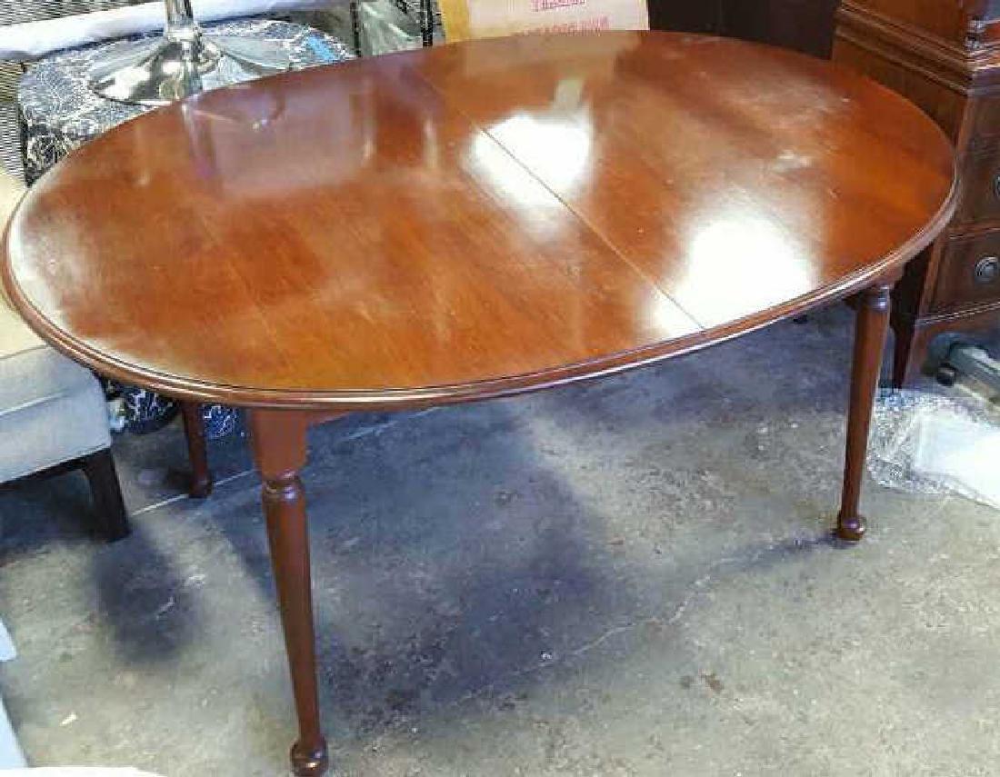 Mahogany Oval Dining Room Table Mahogany Oval Dining - 3