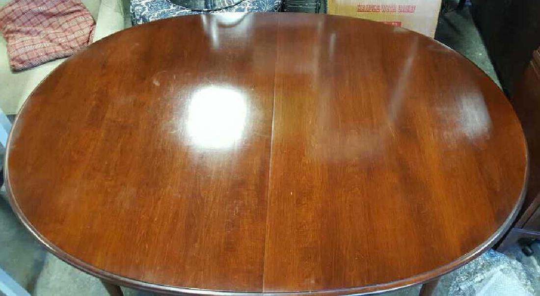 Mahogany Oval Dining Room Table Mahogany Oval Dining - 4