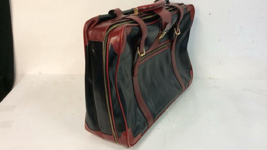Vintage Leather Bally Suitcase Handsome two to one - 3