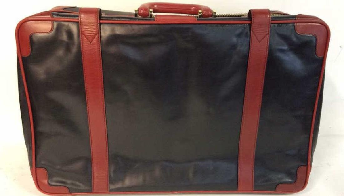 Vintage Leather Bally Suitcase Handsome two to one - 4
