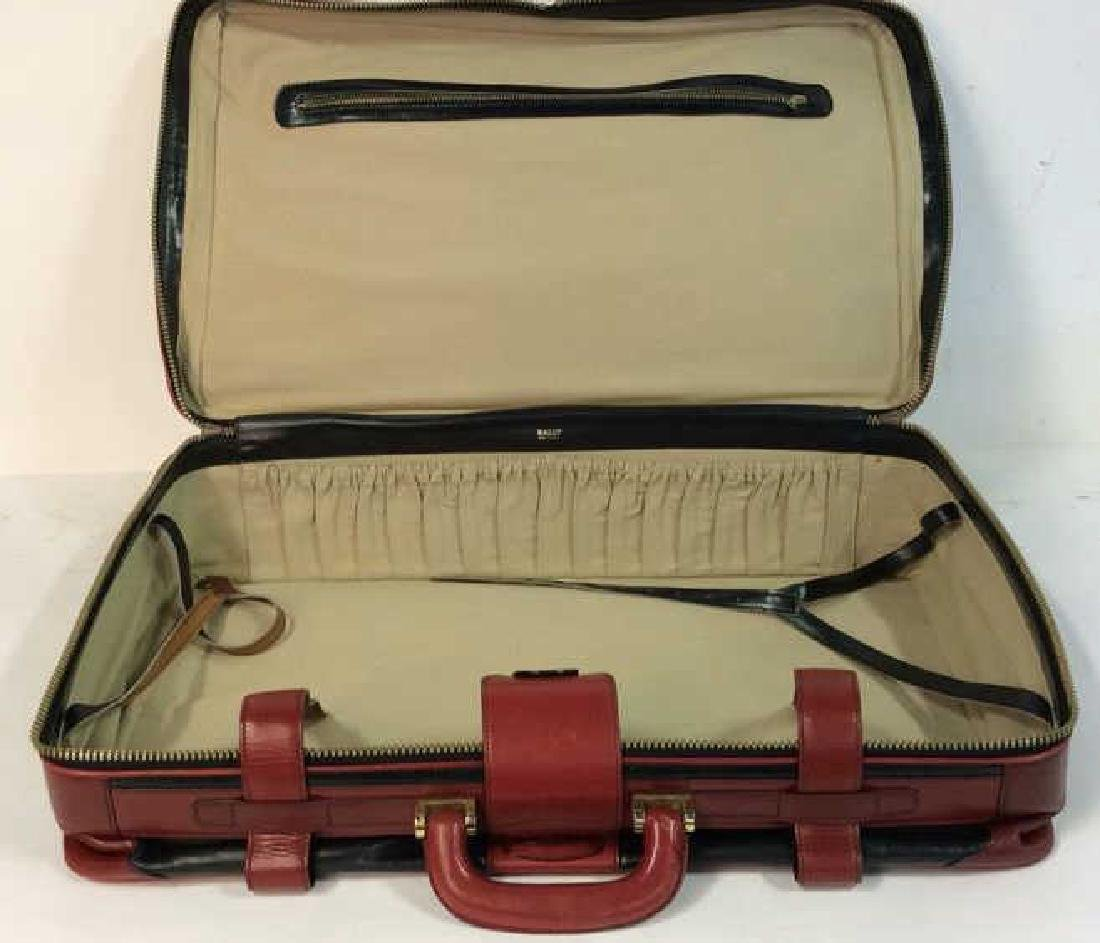 Vintage Leather Bally Suitcase Handsome two to one - 5