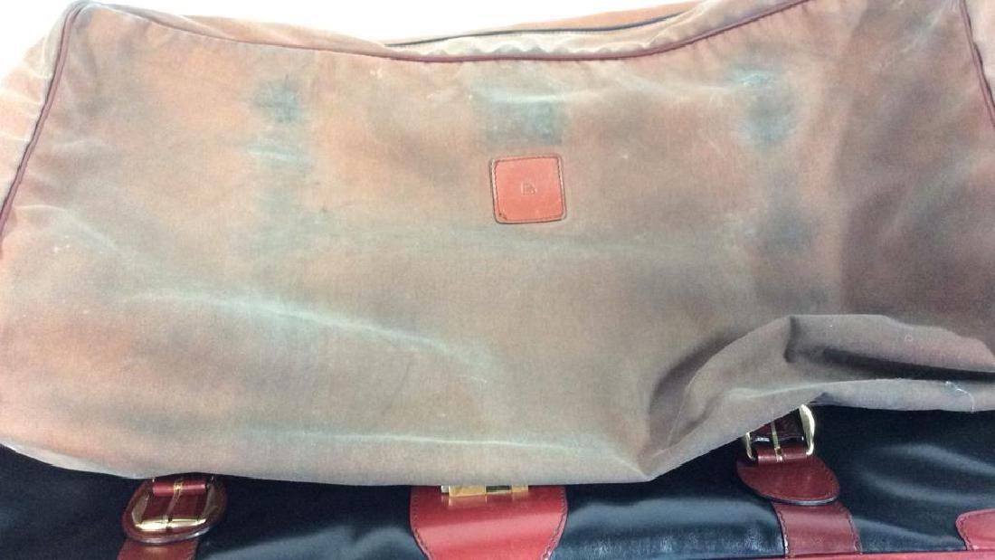 Vintage Leather Bally Suitcase Handsome two to one - 8