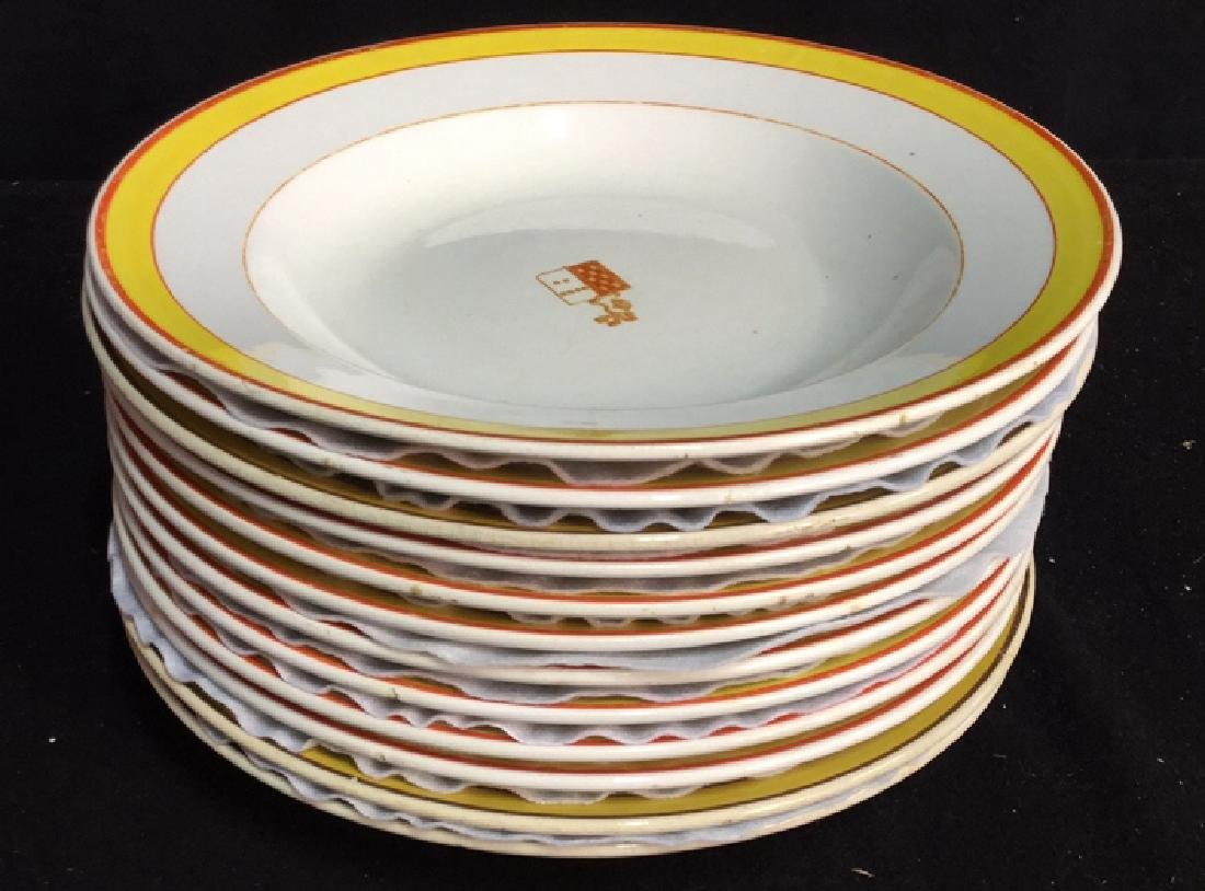 Set of 12 Pickman Sevilla China Soup Bowls - 7