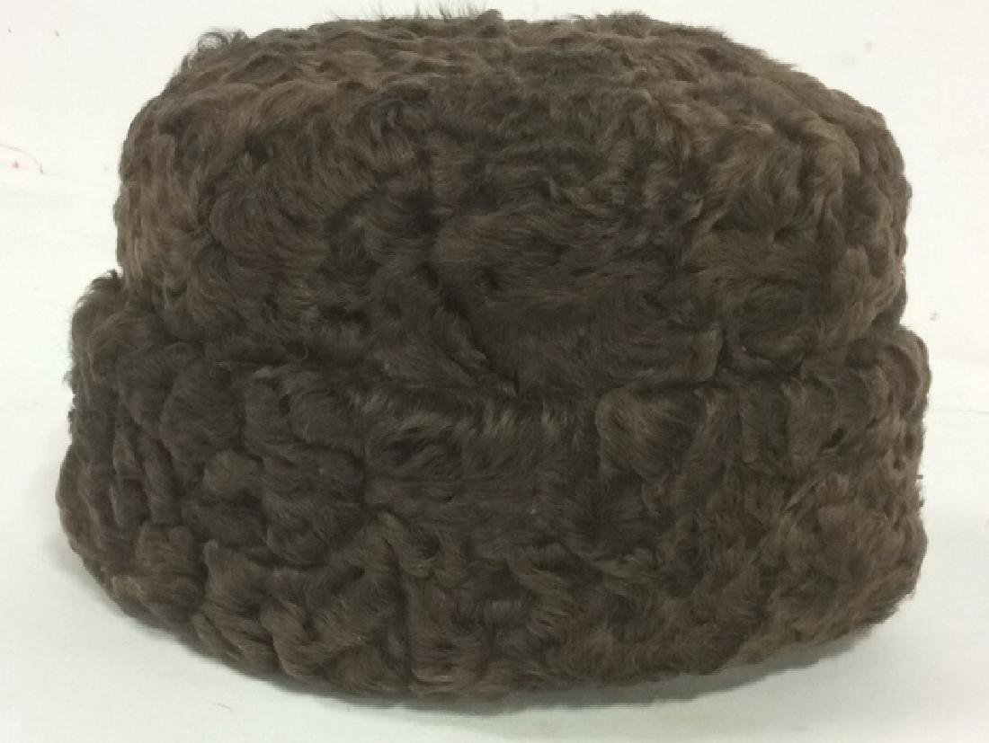 Vintage Men's Genuine Fur Ambassador Style Hat