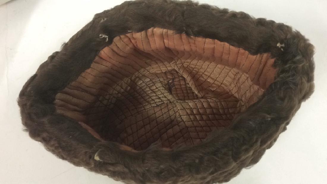 Vintage Men's Genuine Fur Ambassador Style Hat - 4