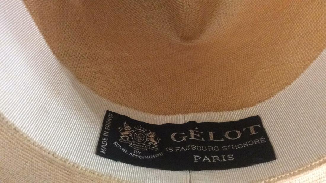 Gelot Paris Royal Appointment Hat Made in France - 6
