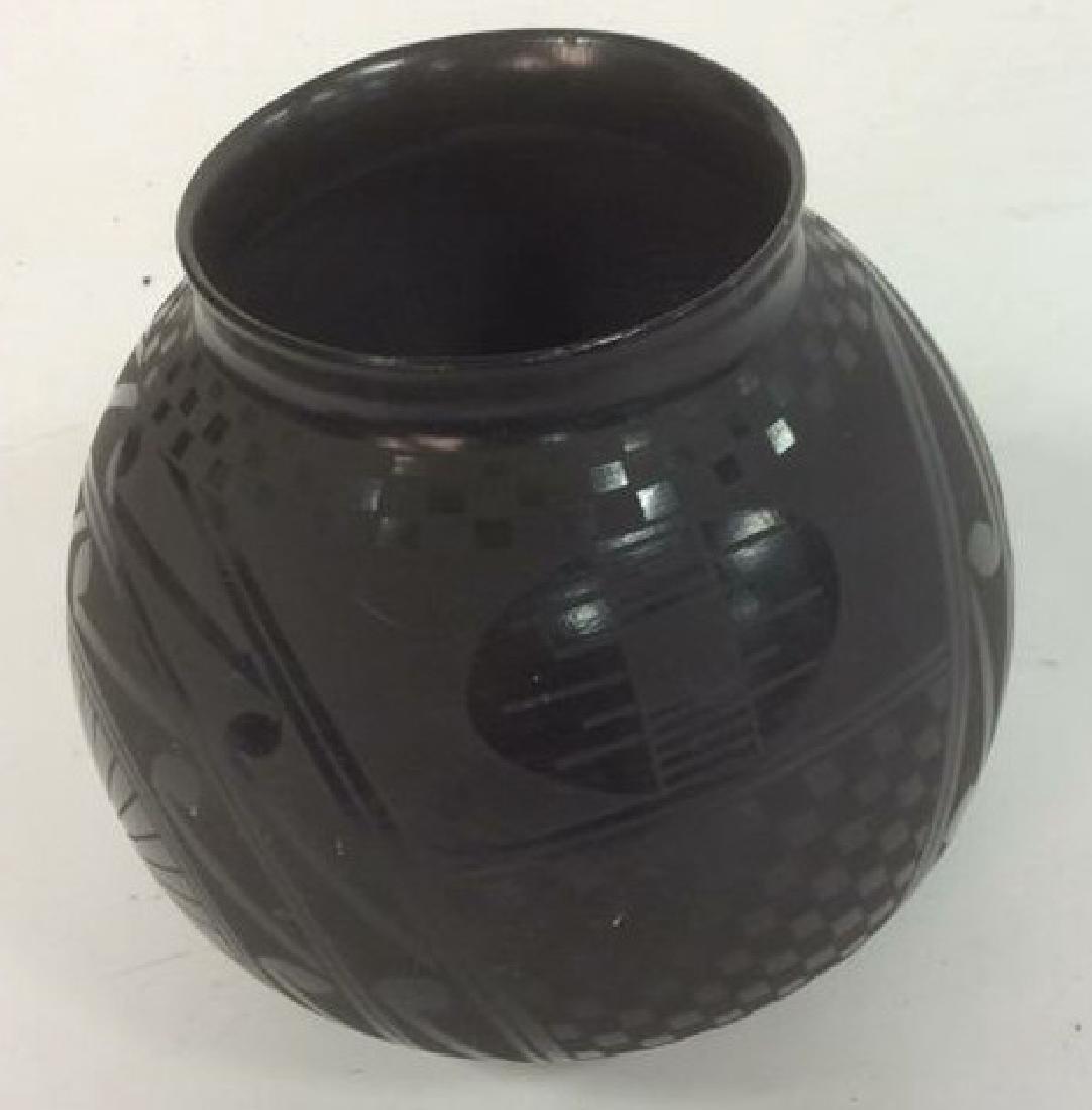 Signed David Ortiz Mexico SW Pottery - 2