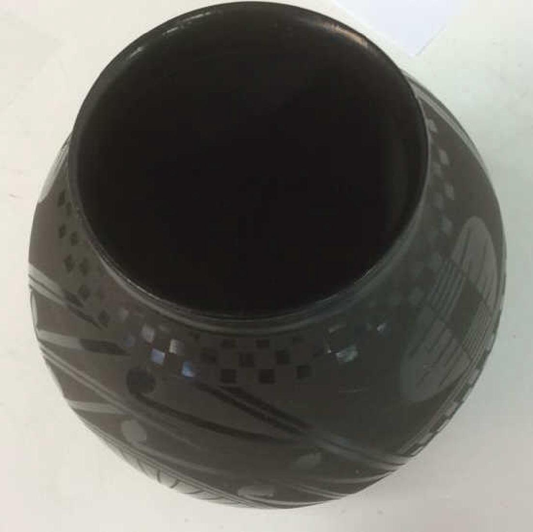 Signed David Ortiz Mexico SW Pottery - 5