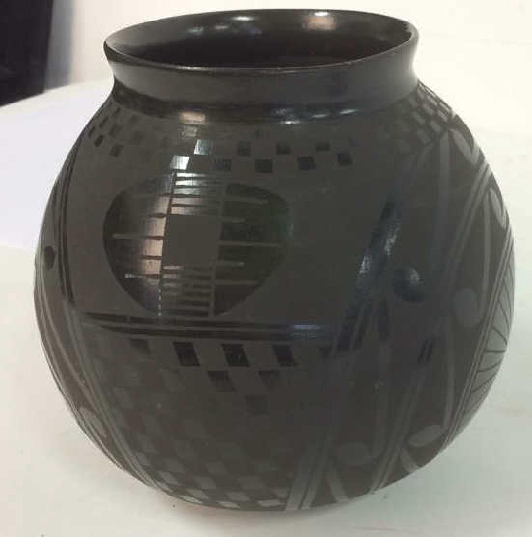 Signed David Ortiz Mexico SW Pottery - 6