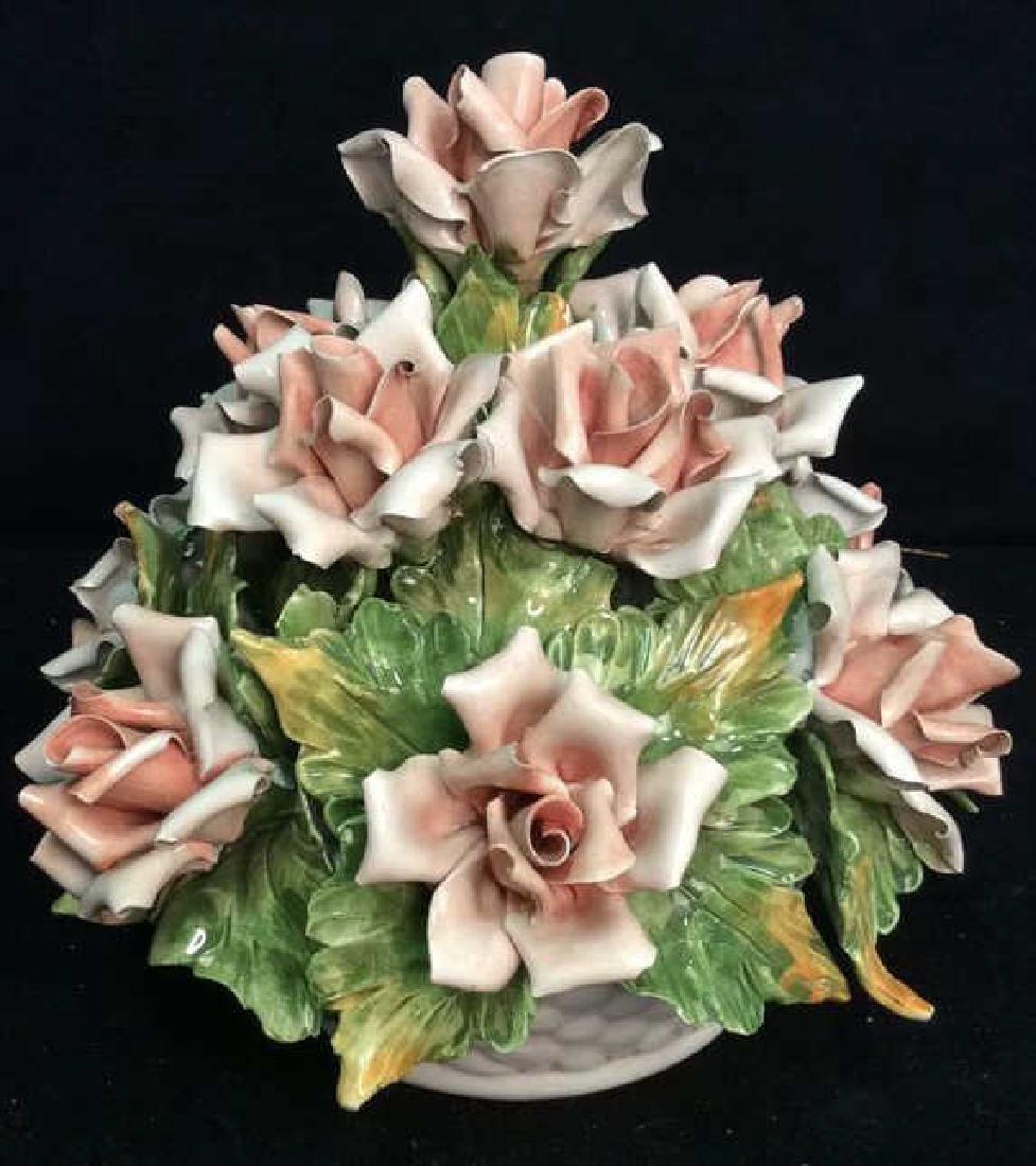 Centerpiece Capodimonte Floral Arrangement
