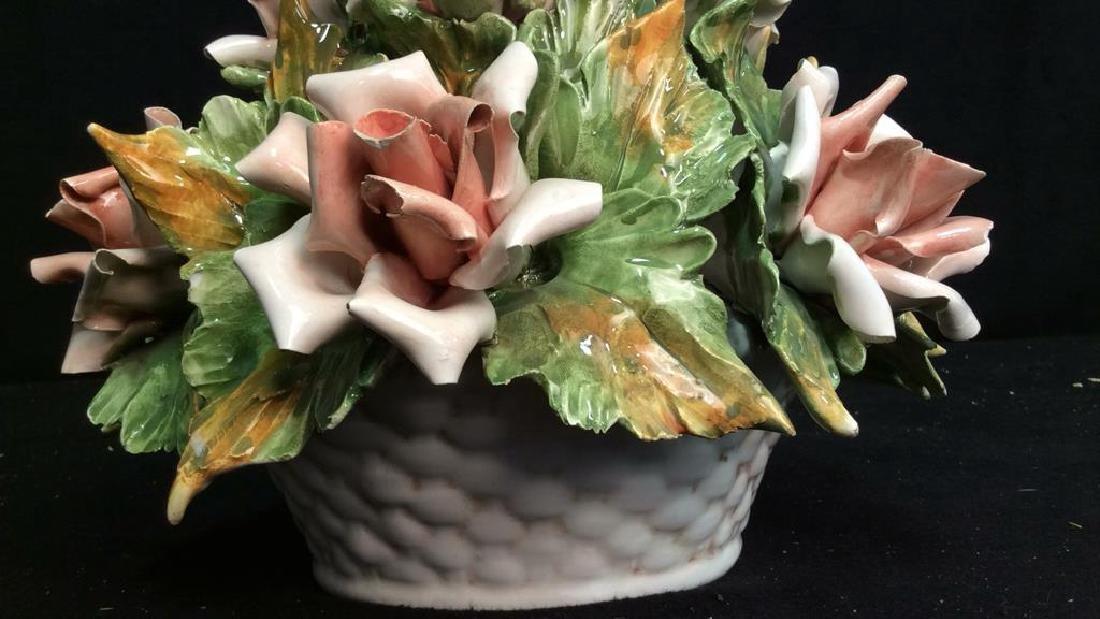 Centerpiece Capodimonte Floral Arrangement - 5
