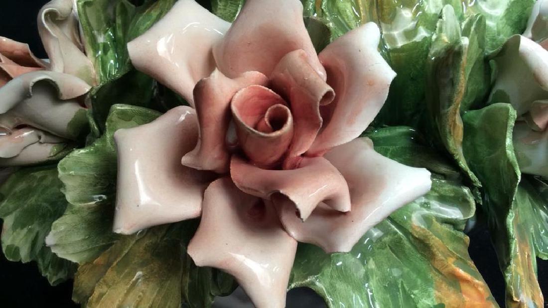 Centerpiece Capodimonte Floral Arrangement - 6